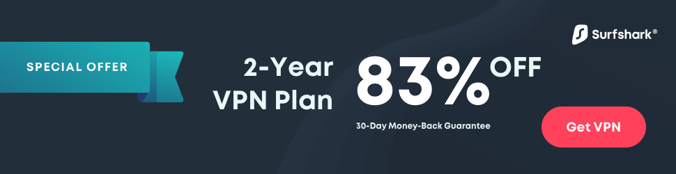 Surfshark 2-Year Plan
