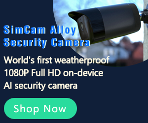 SimCam Alloy Outdoor Security Camera