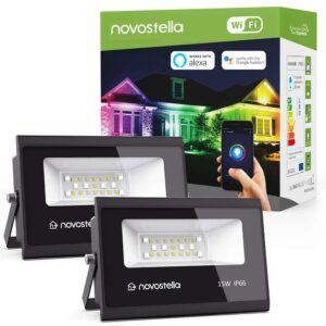 2 Pack 15W Smart LED Lights