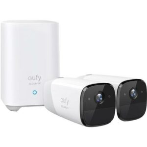 Eufy Wirefree Indoor Outdoor Camera Two Camera Set