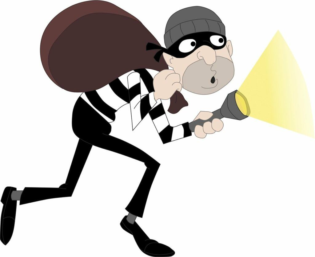The Escaping Burglar