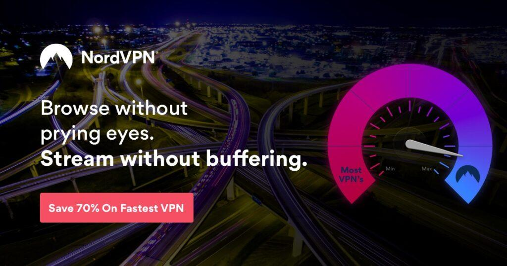 NordVPN Online Privacy and Speed