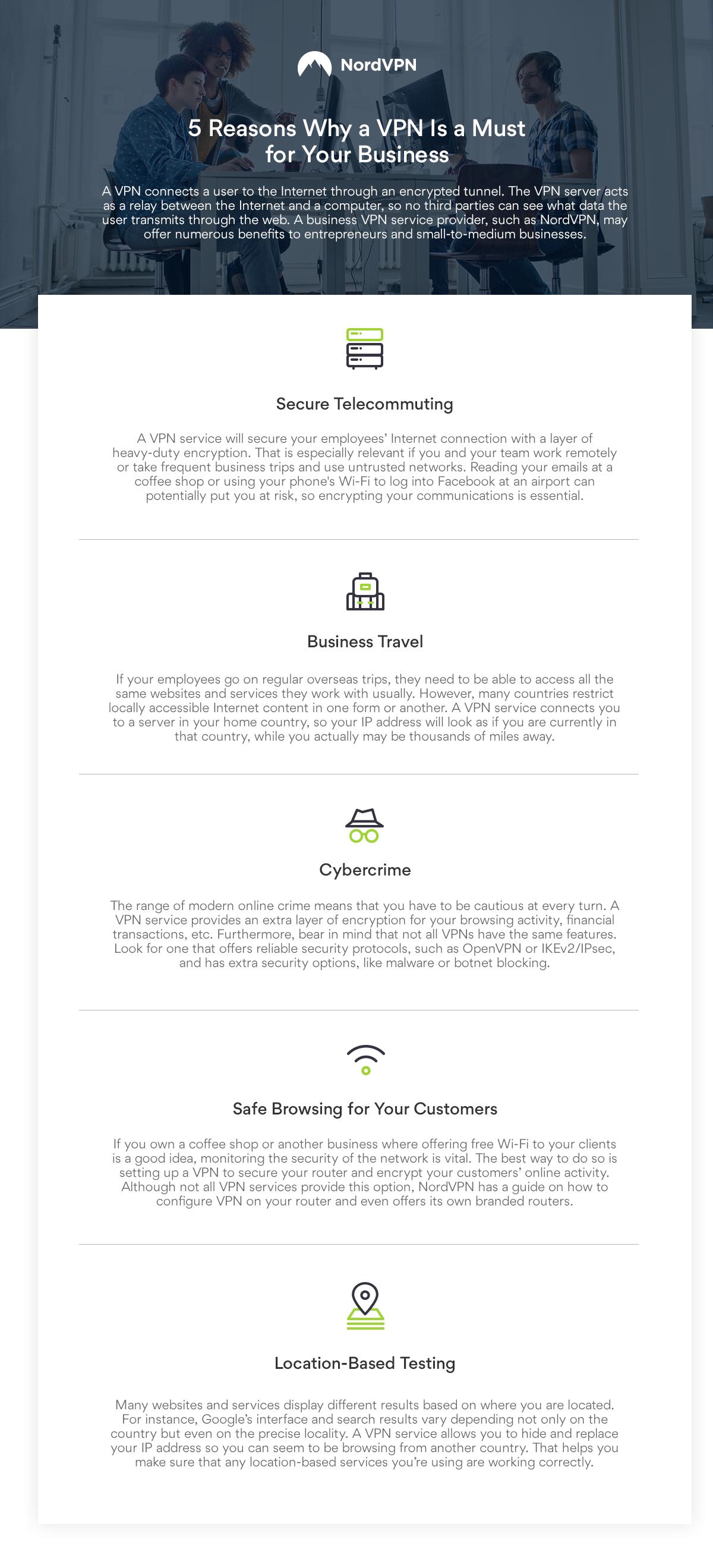NordVPN is the Best VPN for Business
